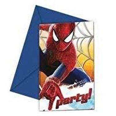 Amazing Spiderman 2 Davetiye 6 Adet-Spiderman